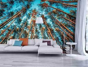 Papier Peint Trompe L4oeil : papier peint trompe l 39 oeil introduisez la nature dans ~ Premium-room.com Idées de Décoration