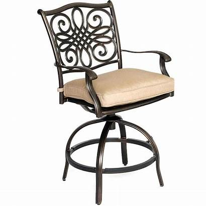 Patio Hanover Dining Round Bar Lowes Sets