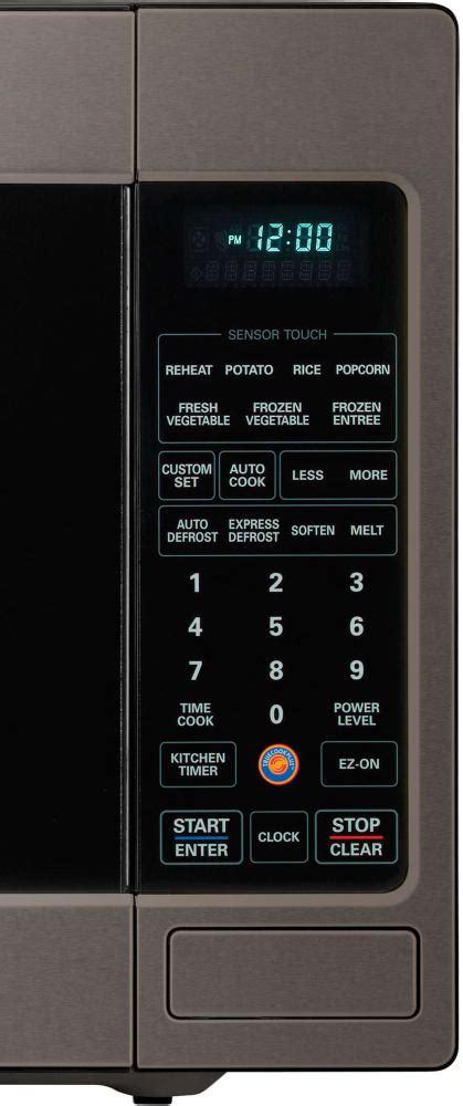 lg lcrtbd  cu ft countertop microwave oven  sensor cook ez  easyclean