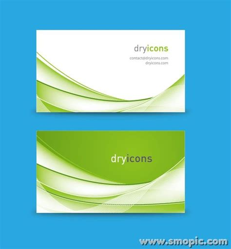creative abstract green background card brochure cover