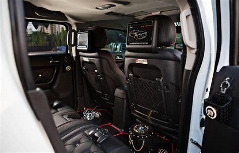 1101dp Hummer H1 Retrofit Interior