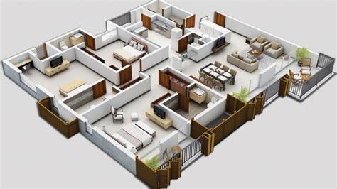 25 Three Bedroom Houseapartment Floor Plans by Awesome Spacious 3 Bedroom House Plans New Home Plans Design