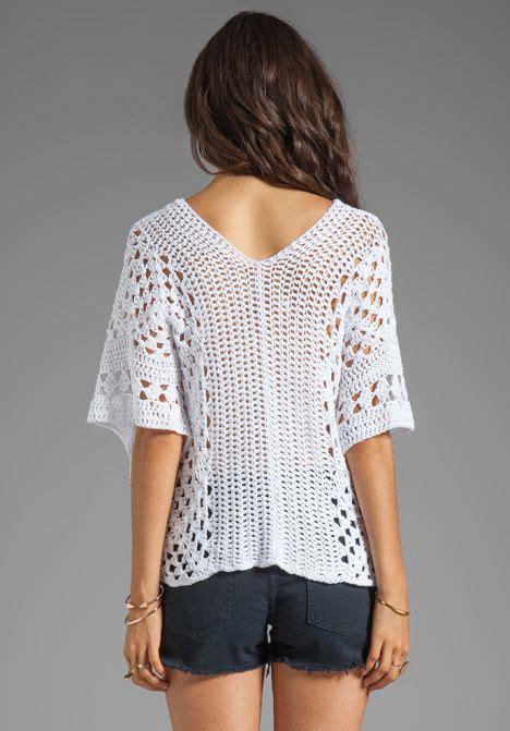 todo patrones crochet gratis paso a paso esquema y graficos blusa blanca a crochet crochet