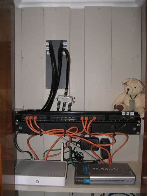 Structured Cable At Home ('f' Patch Panel)  Rhys Goodwin