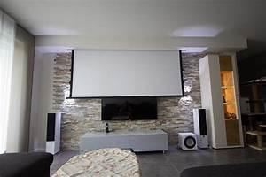 Steinwand Wohnzimmer Tv : heimkino rocky made by heimkinoraum stuttgart ~ Bigdaddyawards.com Haus und Dekorationen