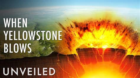 yellowstone super volcano erupts