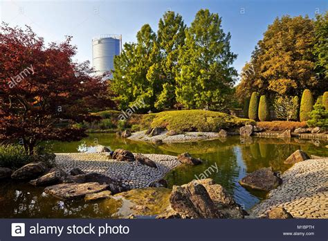 Japanischer Garten Bonn Rheinaue by Rheinaue Stockfotos Rheinaue Bilder Alamy