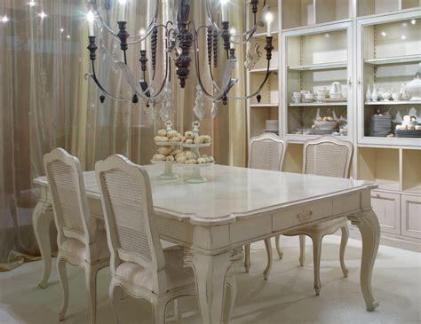 home glamour arts italian designer painted cream wood