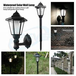 Outdoor waterproof led solar powered lawn light garden