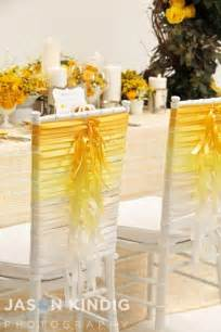 Decoration Chaise Mariage by Wedding Chairs Ombre Ribbon Chair Ties 2055815 Weddbook