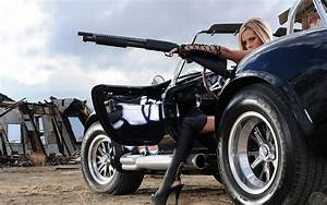 women, guns, cars, cobra, shotguns, Shelby, girls with ...