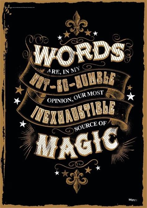 harry potter magic words mightyprint wall art