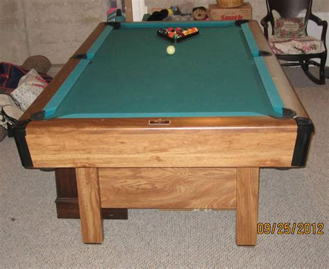 cl bailey pool table slate pool table 1994 bristol ii by brunswick made in usa l k