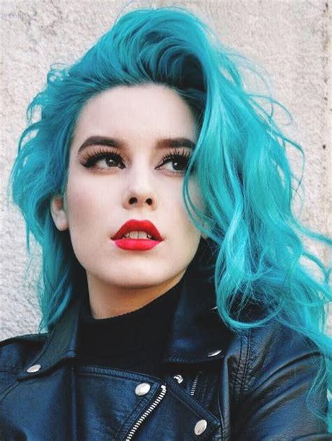 Blue Hair Name flow blue hair