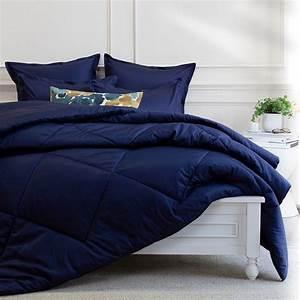 Navy, Blue, Comforter