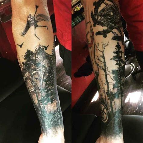 dark  sleeve tattoo design  tattoo ideas gallery