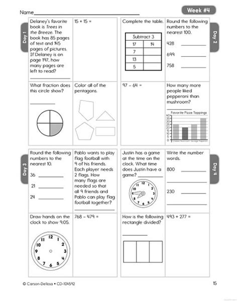math 4 today worksheets math best free printable worksheets