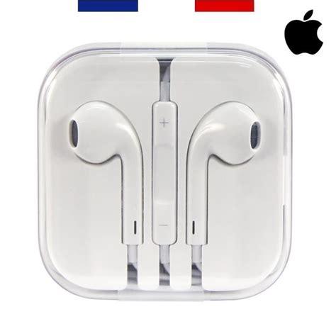 apple earpods ecouteurs iphone authentiques compatibles