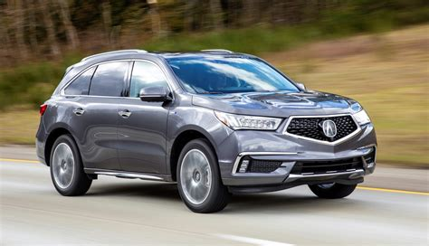 Hybrid Acura by Road Test 2017 Acura Mdx Sport Hybrid Clean Fleet Report
