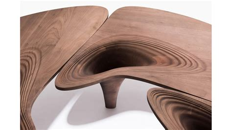 zaha hadids  furniture collection debuts  london