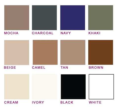 What Are Neutral Colors?  Attire Club By Fraquoh And