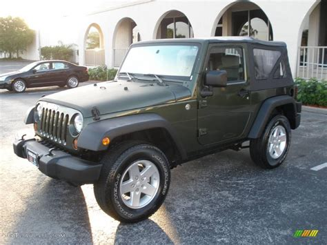 jeep metallic 2008 jeep green metallic jeep wrangler x 4x4 5607466