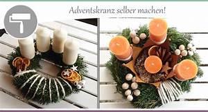 Adventskranz Selbst Binden : adventskranz selber machen 3 varianten wohncore ~ Markanthonyermac.com Haus und Dekorationen