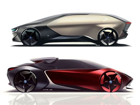 futuristic cars drawings art center graduate envisions the bmw i of the future
