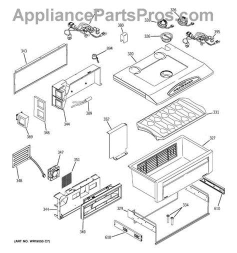 parts  ge zissdxass quick chill parts appliancepartsproscom