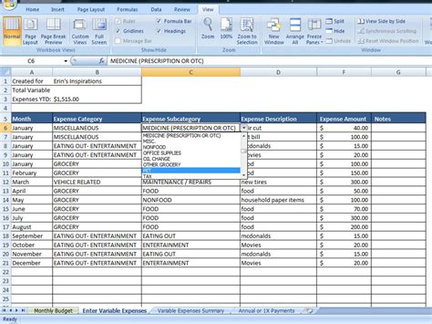 financial budget template personal budget exle personal budget finance finance spreadsheet budget spreadsheet