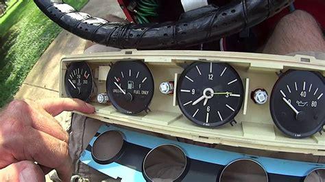 jeep wrangler dashboard lights jeep wrangler yj led dashlight install doovi