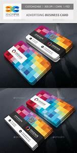 Web Programmer Cv Advertising Agency Business Card Photoshop Psd