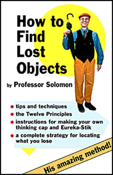 how to find your lost how to find lost objects