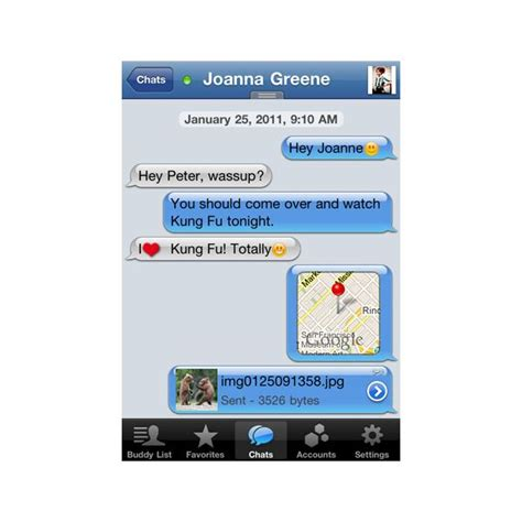 iphone chat chats on iphone