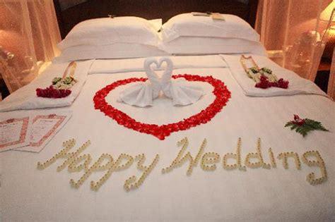 chambre nuit de noce déco chambre pour mariage