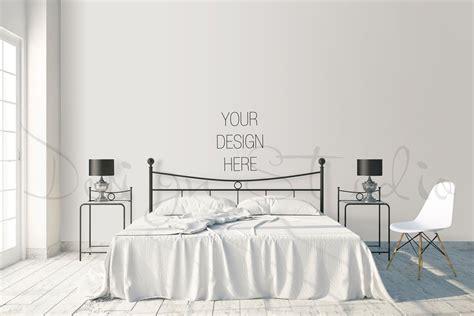 interior psd bedroom photography print mockups