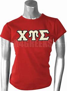 chi upsilon sigma greek letter screen printed t shirt red With sigma chi letter shirt