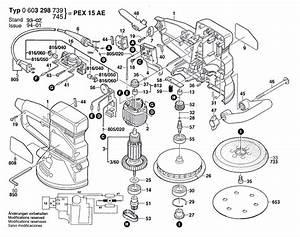 Bosch Pex 15 Ae : bosch pex 15 ae 0603298739 tool parts ~ Jslefanu.com Haus und Dekorationen