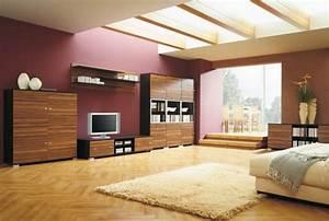 Wandfarben Ideen Wohnzimmer : wandfarben beispiele wohnzimmer ~ Lizthompson.info Haus und Dekorationen