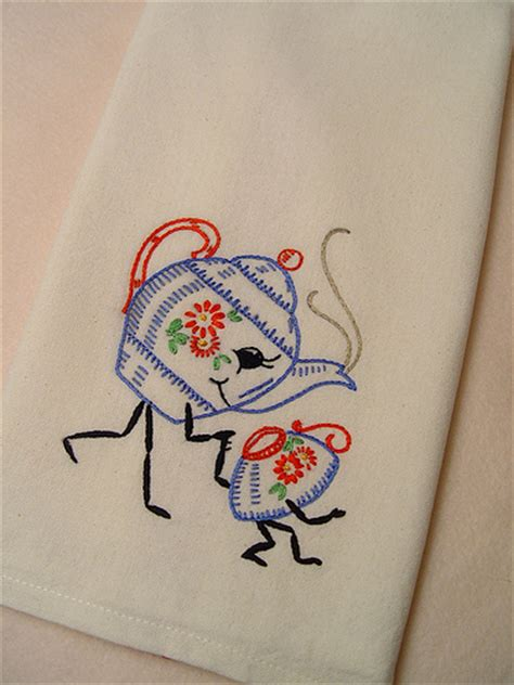 kitchen towel embroidery designs flickr photo 6314