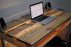 Gaming Schreibtisch Selber Bauen : 19 diy pallet desks a nice way to save money and to customize your home office ~ Markanthonyermac.com Haus und Dekorationen