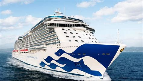 Princess Cruises Names Fourth Royal-Class Ship Sky Princess
