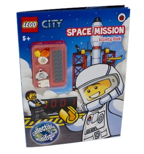 lego city 3 2 1 liftoff level 1 lego city space mission activity book with minifigure
