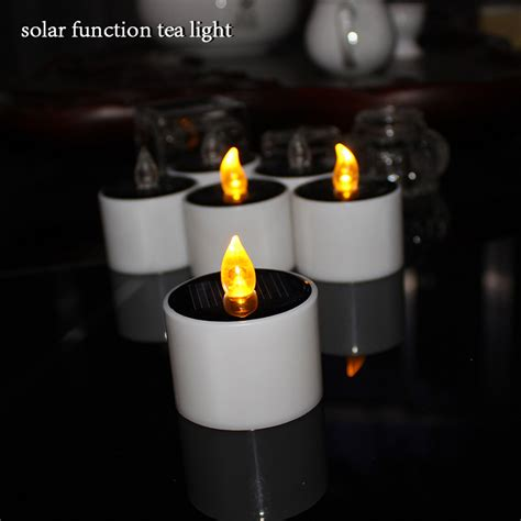 solar powered tea light candles promotion shop for