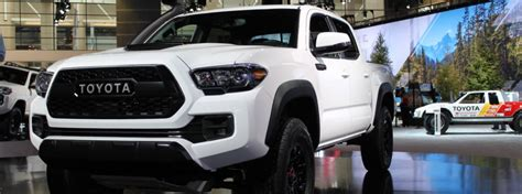 2019 Toyota Tacoma TRD Pro Chicago Auto Show debut and new ...