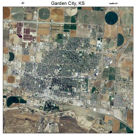 Garden City Usps by Aerial Photography Map Of Garden City Ks Kansas