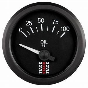 Stack Electric Oil Pressure Gauge 0