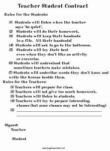 boggle39s world esl worksheets for kids With student teacher contract template