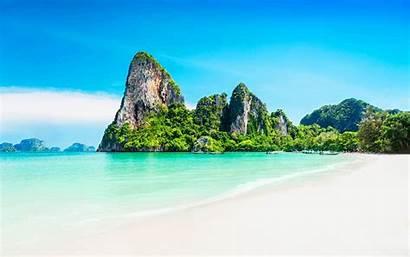 Tropical Beach Landscape Desktop Backgrounds Wallpapers