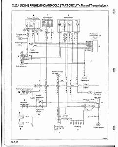 I U0026 39 M Looking For The Wiring Schematic For A 1992 Mitsubishi L300  4d56 Diesel Engine  Glow